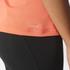 adidas Women's D2M 3 Stripe T-Shirt - Easy Coral: Image 7