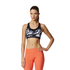 adidas Women's TechFit Graphic Medium Support Sports Bra - Black: Image 3