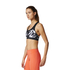 adidas Women's TechFit Graphic Medium Support Sports Bra - Black: Image 4