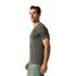 adidas Men's Freelift Tric T-Shirt - Utility Grey: Image 4