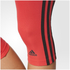 adidas Women's D2M 3 Stripe 3/4 Tights - Core Pink: Image 6