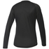 adidas Women's D2M Long Sleeve Top - Black: Image 2