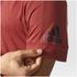 adidas Men's ID Stadium T-Shirt - Mystery Red: Image 8