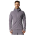 adidas Men's ZNE Hoody - Trace Grey: Image 3
