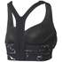 adidas Women's Climachill Marble High Support Sports Bra - Black: Image 2