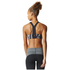 adidas Women's Climachill High Support Sports Bra - Black Print: Image 5