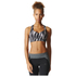 adidas Women's Climachill High Support Sports Bra - Black Print: Image 3