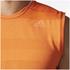 adidas Men's Supernova Sleeveless Running T-Shirt - Energy Orange: Image 8