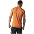 adidas Men's Supernova Sleeveless Running T-Shirt - Energy Orange: Image 5