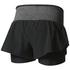 adidas Women's Ultra Energy Running Shorts - Black: Image 2