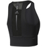 adidas Women's Speed Crop Tank Top - Black: Image 2