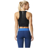 adidas Women's Speed Crop Tank Top - Black: Image 5