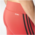 adidas Women's D2M 3 Stripe Tights - Core Pink: Image 7