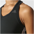 adidas Women's D2M 3 Stripe Tank Top - Black: Image 8