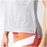 adidas Women's Boxy Melange Tank Top - White: Image 8