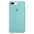 Étui en Silicone pour iPhone 7 Plus -Bleu: Image 2