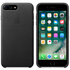 Apple iPhone 7 Plus Leather Case - Black: Image 1