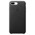 Apple iPhone 7 Plus Leather Case - Black: Image 2