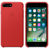 Apple iPhone 7 Plus Leather Case - Red: Image 1
