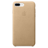 Apple iPhone 7 Plus Leather Case - Tan: Image 2