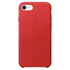 Apple iPhone 7 Leather Case - Red: Image 2