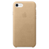 Apple iPhone 7 Leather Case - Tan: Image 2