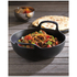 Le Creuset Cast Iron Balti Dish - 24cm - Satin Black: Image 2