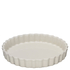 Le Creuset Stoneware Fluted Flan Dish 24cm - Almond: Image 1