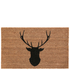 Deer Doormat - Natural: Image 1