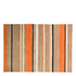 Flair Infinite Inspire Rug - Broad Stripe Orange: Image 2