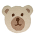 Flair Nursery Teddy Bear Rug - Natural (75X80): Image 2