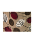 Flair Infinite Inspire Rug - Fifties Floral Choc/Red (80X150): Image 2