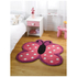 Flair Kiddy Play Rug - Polka Butterfly Multi (90X90): Image 1