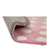 Flair Kiddy Play Rug - Polka Heart Pastel Pink(90X90): Image 3