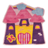 Flair Kiddy Play Rug - Fairytale Castle Multi (90X90): Image 2