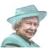 Ride With Car Stickers - The Queen: Image 2
