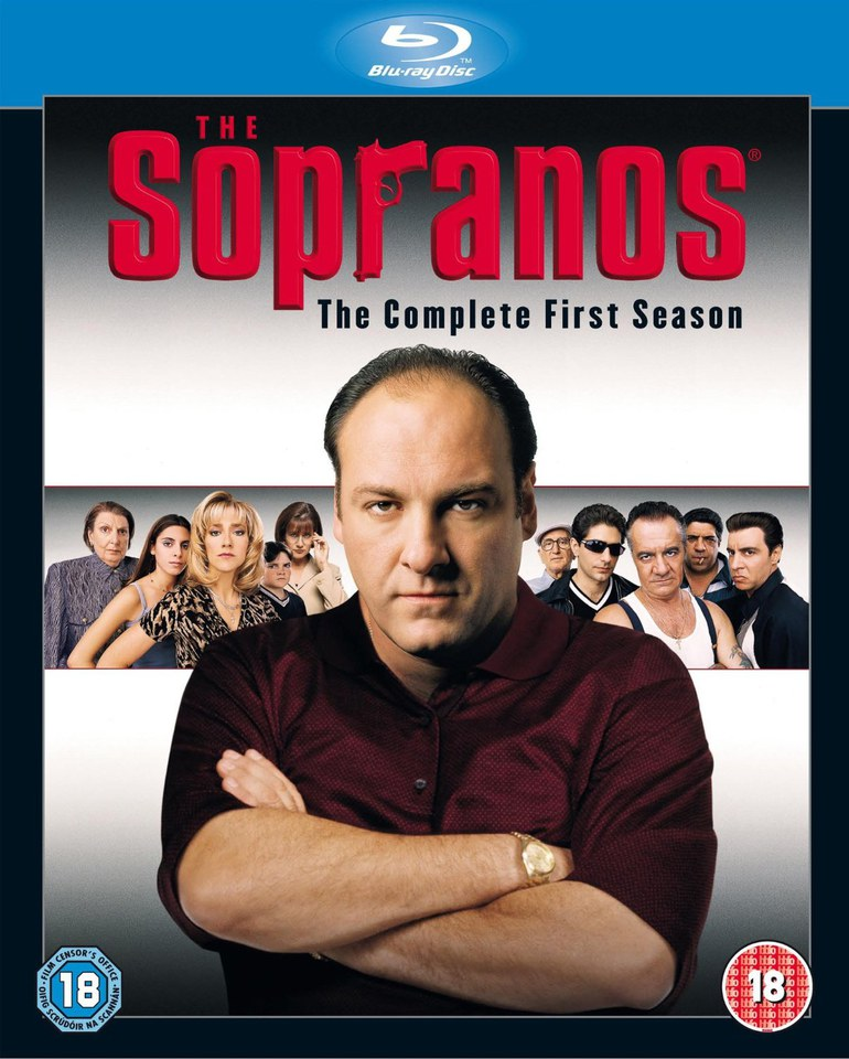 The Sopranos Season 1 Blu Ray Zavvi Com