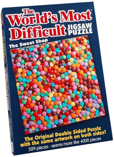 Ausgefallenkreatives - The World's Most Difficult Puzzle Süßwarenladen - Onlineshop Sowas Will Ich Auch
