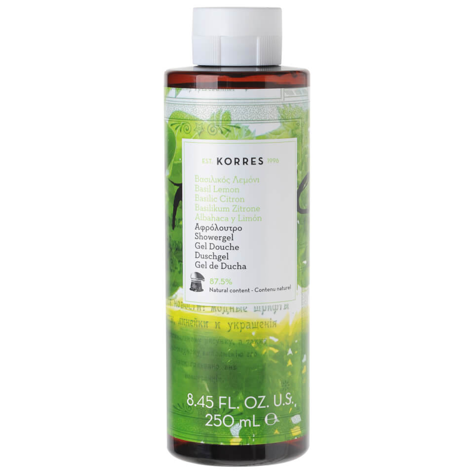korres-basil-lemon-shower-gel-250ml