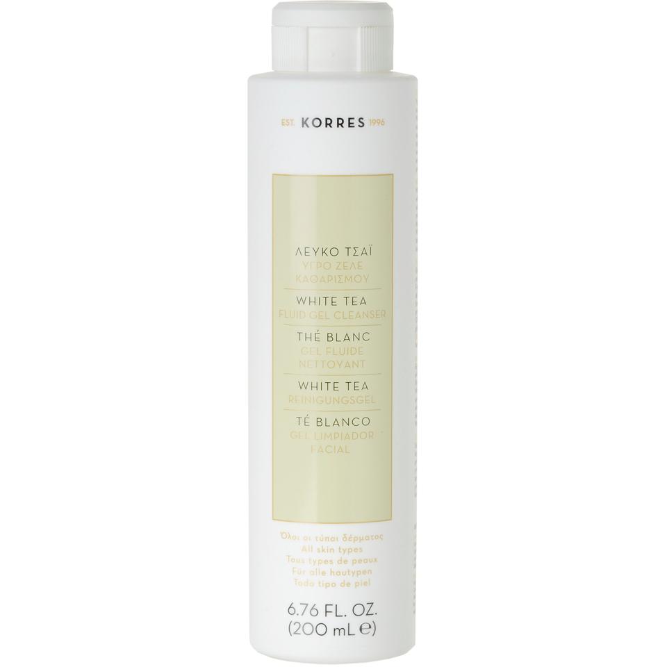 korres-white-tea-facial-fluid-gel-cleanser-200ml