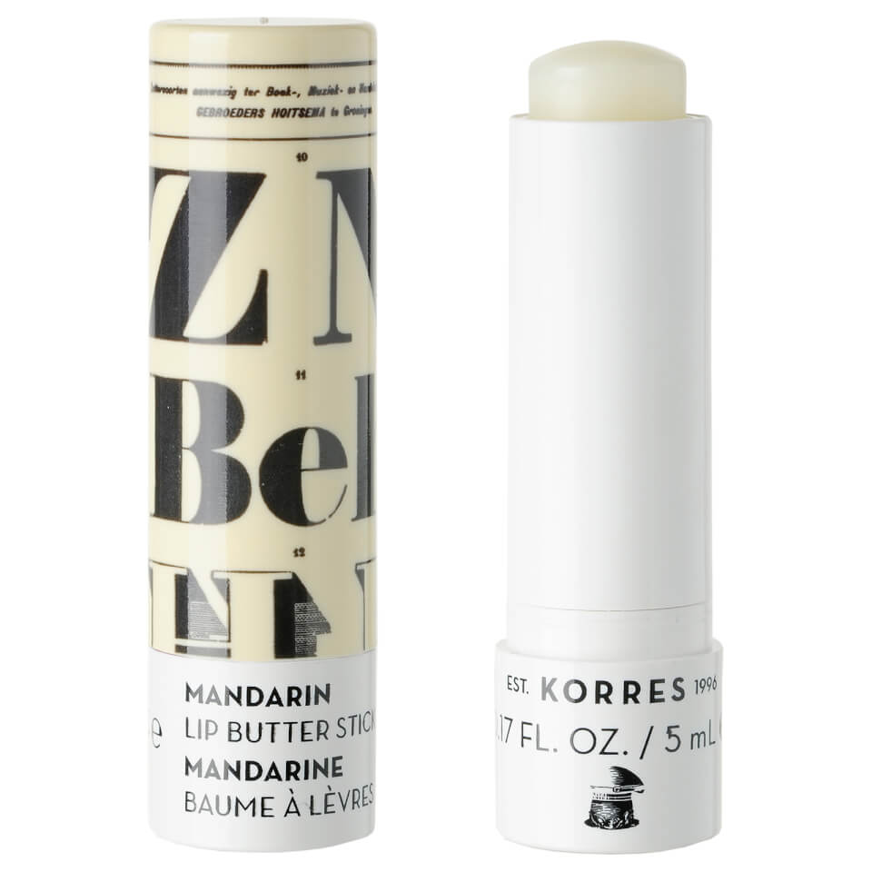 KORRES Mandarin Lip Butter Stick - Colourless 10206868