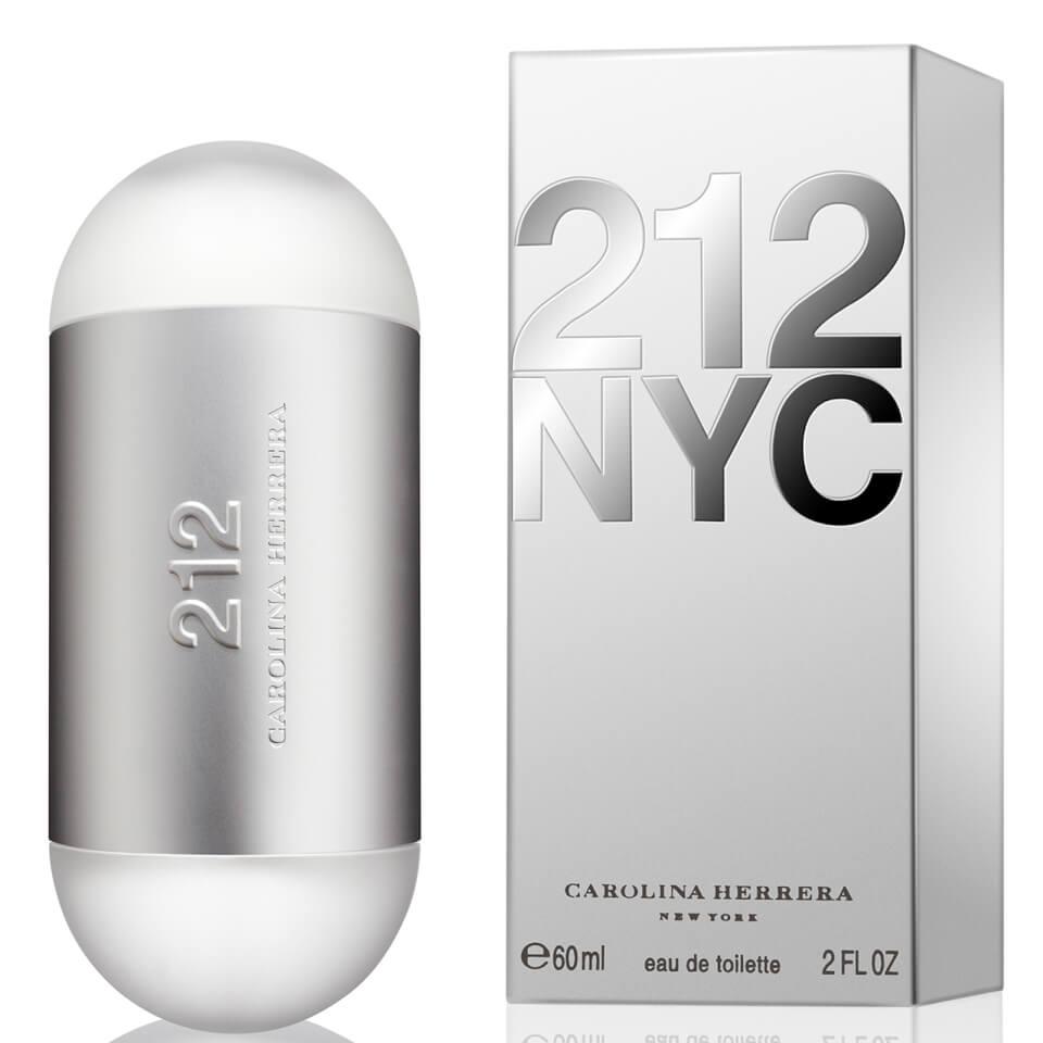 Carolina Herrera 212 Eau de Toilette (EdT) 60 ml silber