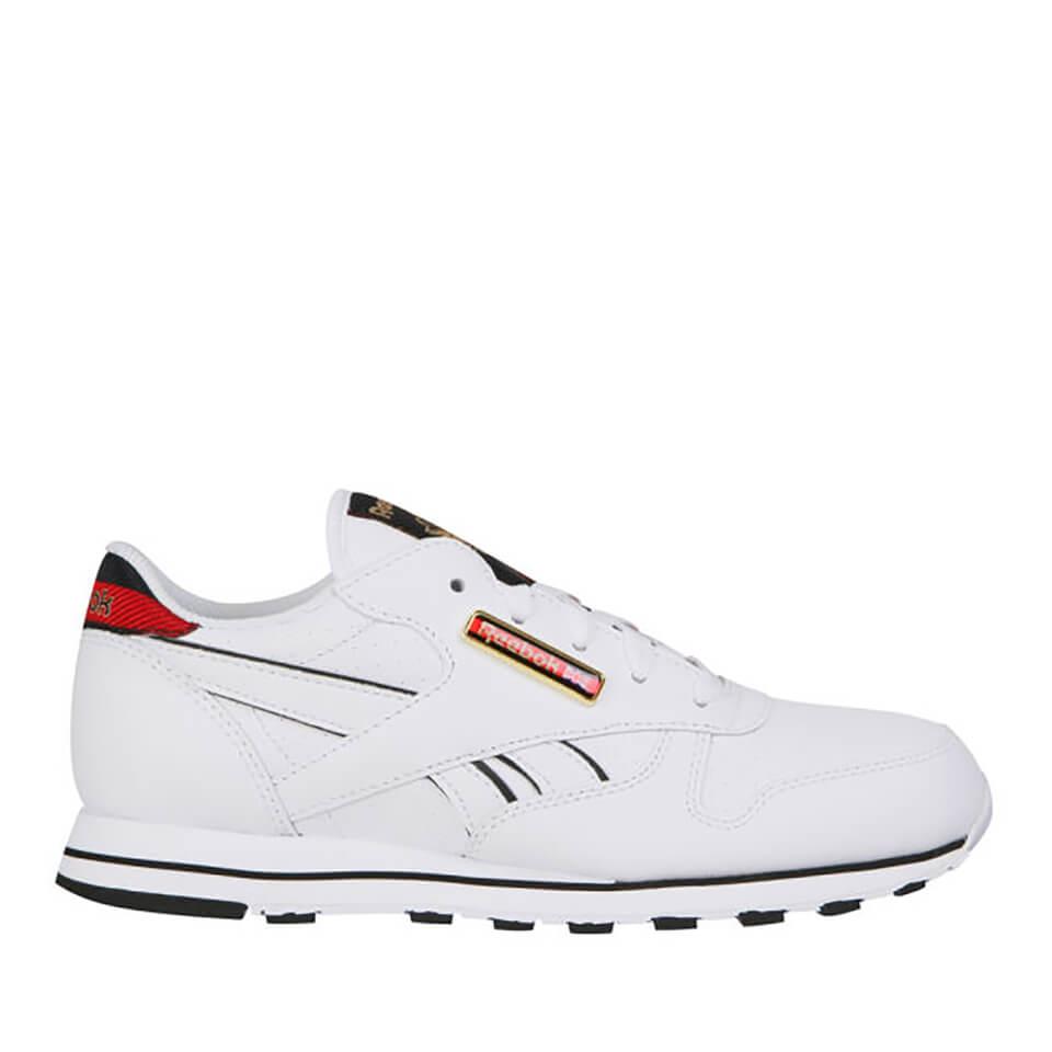 Zapatillas Reebok Classic - Mujer - Blanco/negro - 5 - White/Black