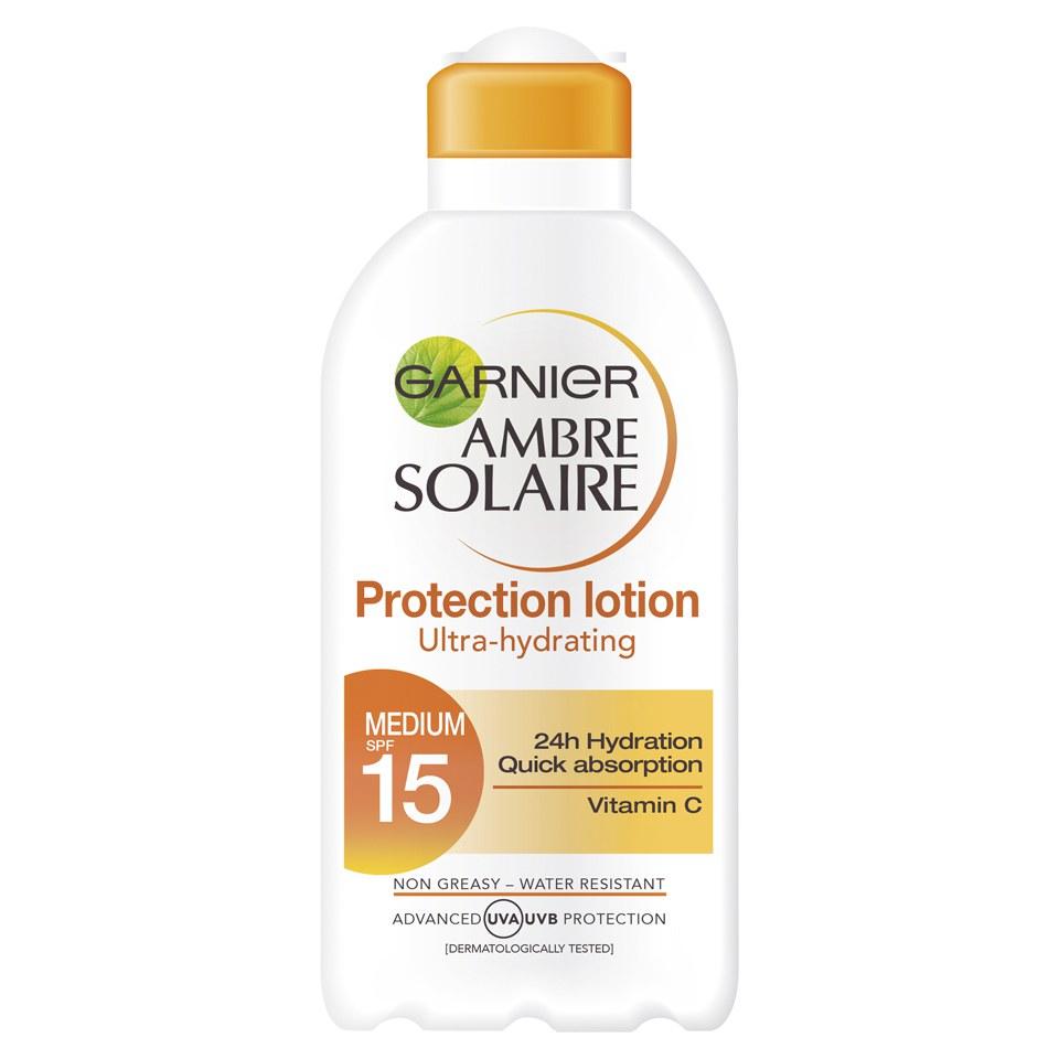 Garnier Ambre Solaire Ultra-Hydrating Sun Cream SPF 15 200ml