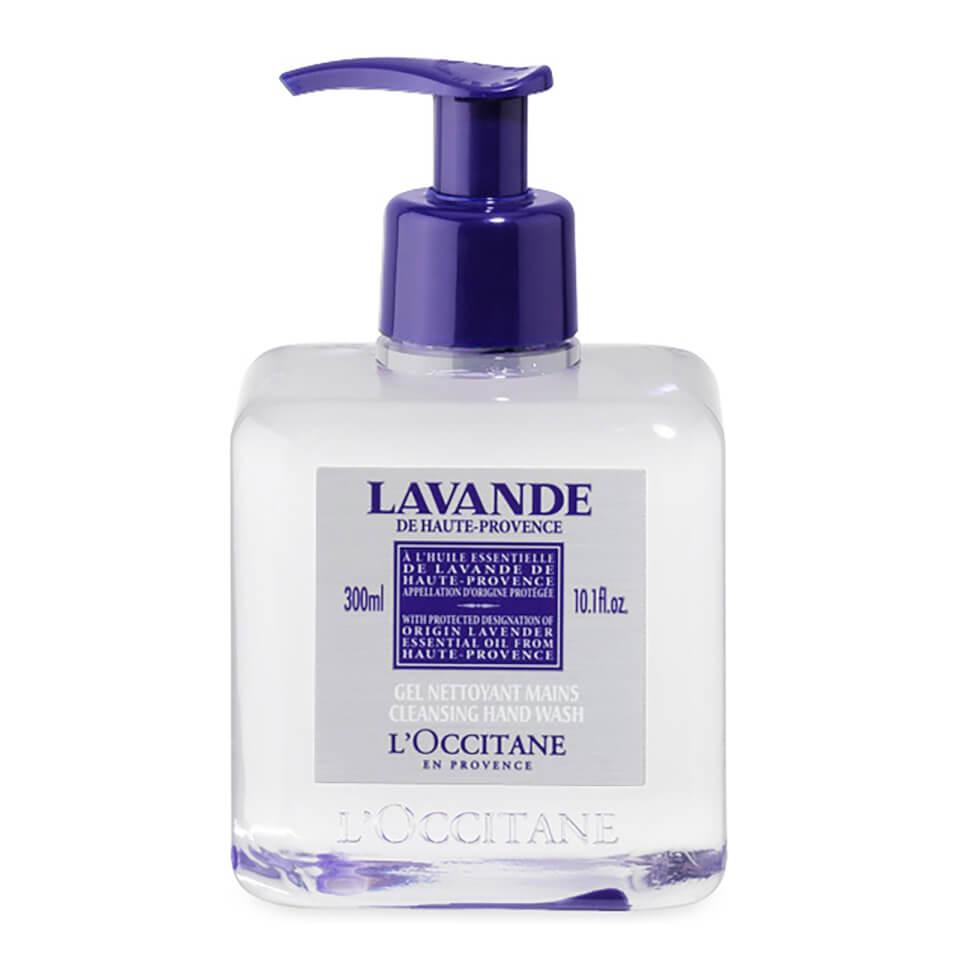 L'Occitane Lavender Cleansing Hand Wash (300ml)