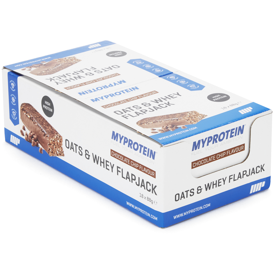 Myprotein Oats & Whey - 18Barritas - Chips de Chocolate
