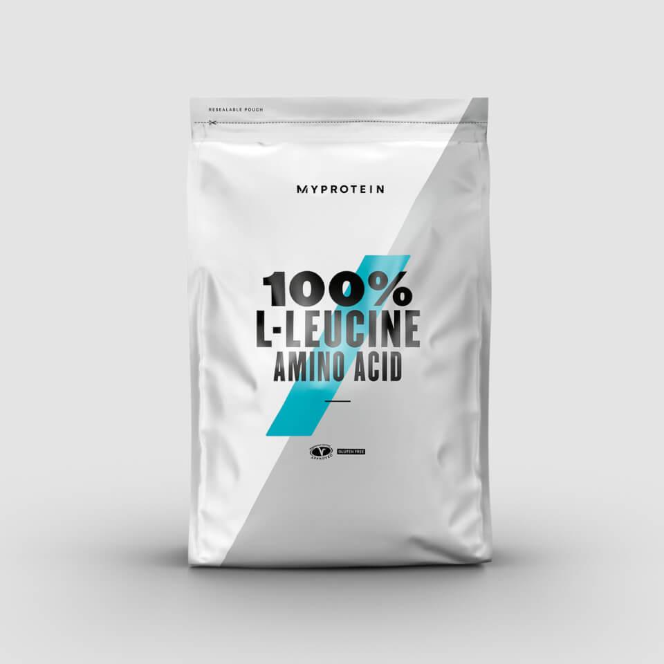 100% L-Leucine Amino Acid - 500g - Unflavoured