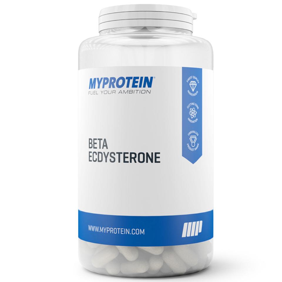 Foto Beta-ecdisterone, Senza aroma, Barattolo, 60 Capsules Myprotein Nutrizione sportiva