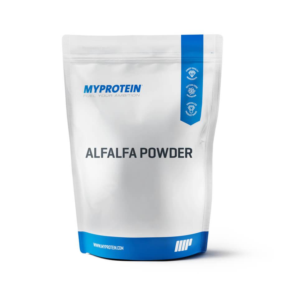 Foto Alfalfa Powder, Senza aroma, Sacchetto, 500 g Myprotein