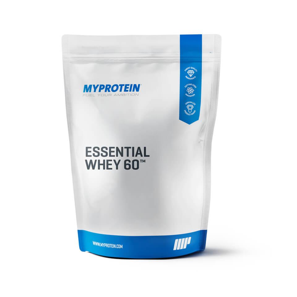 Foto Essential Whey 60, Fragola panna, Sacchetto, 1 kg Myprotein